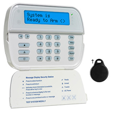DSC WT5500 2-Way keypad